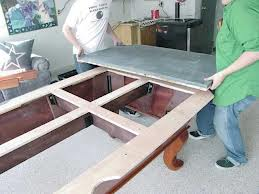 Billiard table moves in Portland Oregon