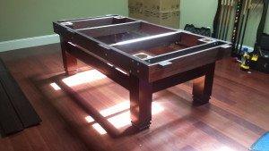 Correctly performing Billiard table installations, Portland Oregon
